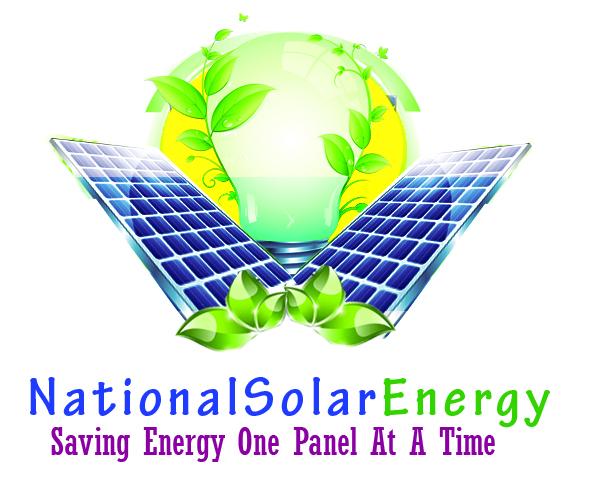 National Solar Energy Logo designed by Oregon Springfield Web Design - Darice Designs